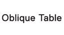 [오블리크테이블] 갤러리아 광교 가구 매장 매니저 채용